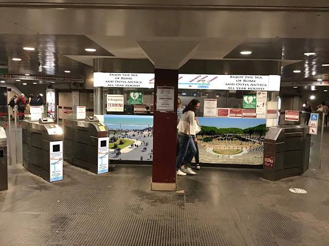 L'Amministrazione pubblicizza gli Scavi di Ostia Antica nelle stazioni ATAC