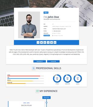 jasa membuat blog professional portfolio