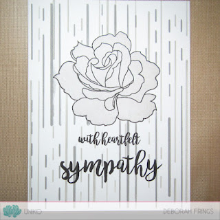 With heartfelt sympathy sq - photo by Deborah Frings - Deborah's Gems