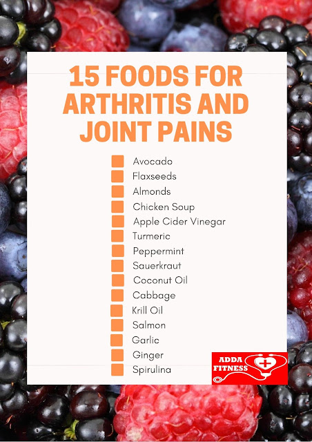 15 Foods For Arthritis and Joint Pains