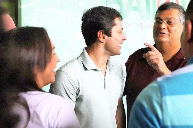 LIVRAMENTO DE DEUS PARA BRAIDE: Eliziane Gama apoia Duarte Junior