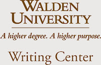 Walden University Writing Center: A higher degree. A higher purpose.