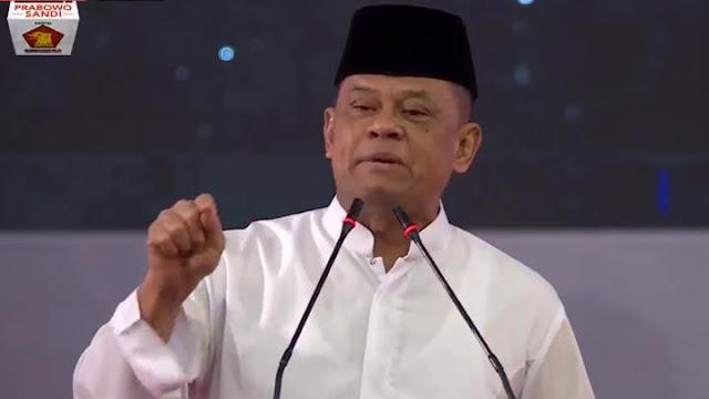 Di Pidato Kebangsaan Prabowo, Jenderal Gatot Ingatkan Bahaya <i>Global Citizen</i>