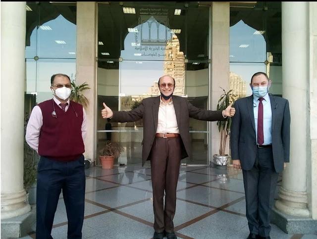 شفاء الفنان مجدي صبحي من فيروس كورونا