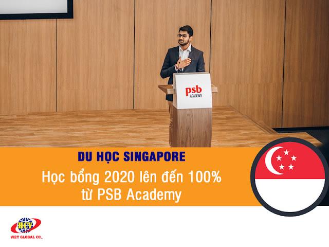 Du học Singapore: Cơ hội học học bổng PSB Academy lên đến 100% học phí