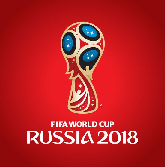 Logo Copa del Mundo Rusia 2018 - vector