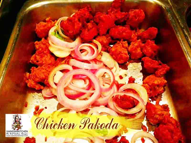 viaindiankitchen - Chicken Pakoda