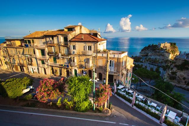B&b Island-Tropea-Vista dalla Camera