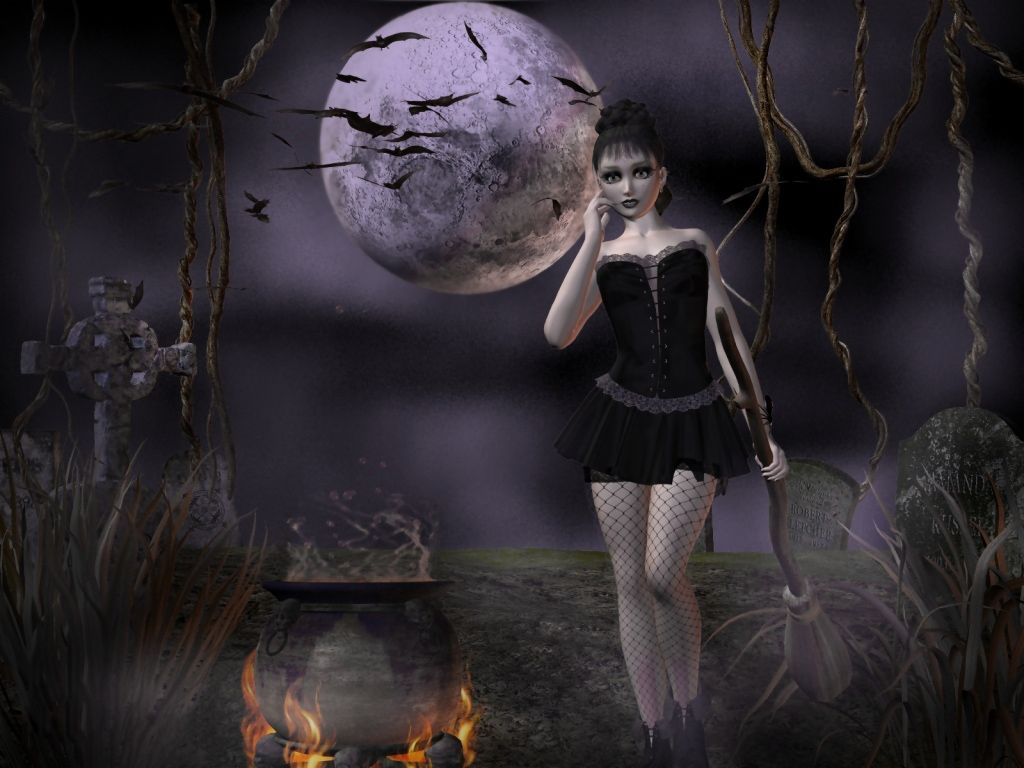 Wallpapers, Clip Art, and Images: Witch