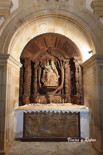 Capillas de la Iglesia de Santa maría del Monasterio de Vilanova de Lourenzá