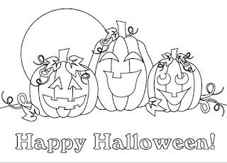 Best-Happy-Halloween-Clipart -lack & White-pictures-Free