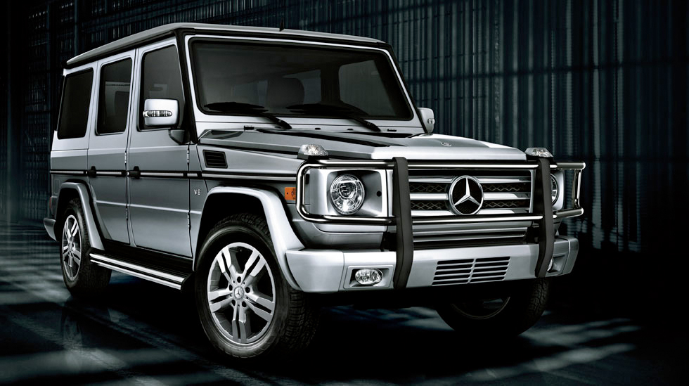 Mercedes Benz G Class And Jeep Wrangler Unlimited A