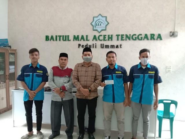 Silaturahmi Karang Taruna kecamatan Lawe Alas dengan Baitulmal Aceh Tenggara   PikiranSaja.com