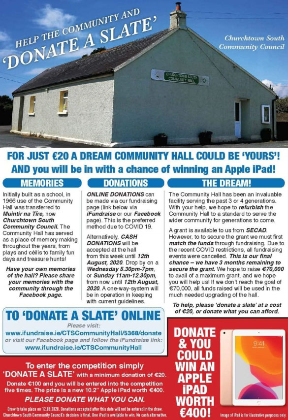 https://www.ifundraise.ie/5368_churchtown-south-community-hall.html