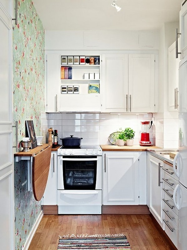 Modern Small Kitchens Design Layouts - Simple and Elegant