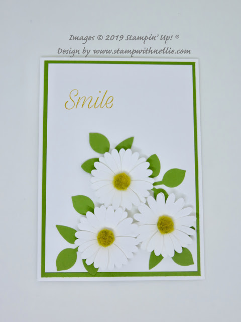 Medium Daisy Punch Stampin Up