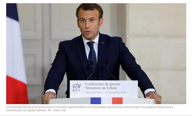 França mobiliza novamente comunidade internacional para reconstrução de Beirute