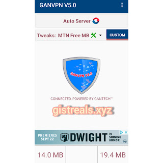 MTN Latest Browsing Cheat Using GAN VPN | Very Fast and Enjoyable