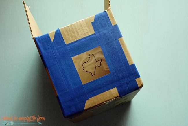 Cardboard Box Projector