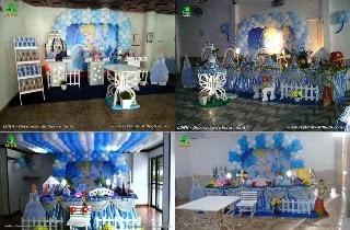 Decoração festa de aniversário Cinderela