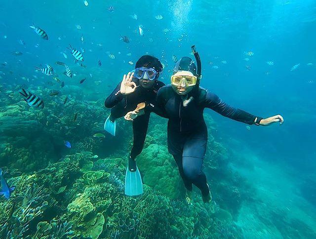 foto prewedd underwater