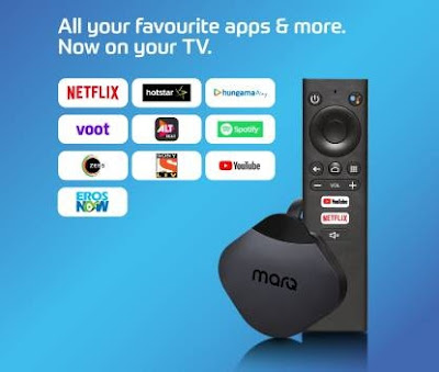 Flipkart launched MarQ Turbostream TV Stick, powered by Android 9