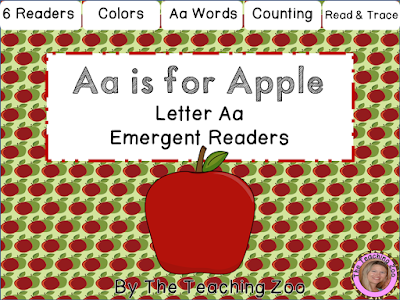 https://www.teacherspayteachers.com/Product/Letter-of-the-Week-Emergent-Readers-A-a-2084455