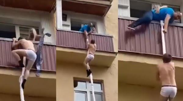 Hombre sorprende a esposa en teniendo Snu-Snu  con el amante.