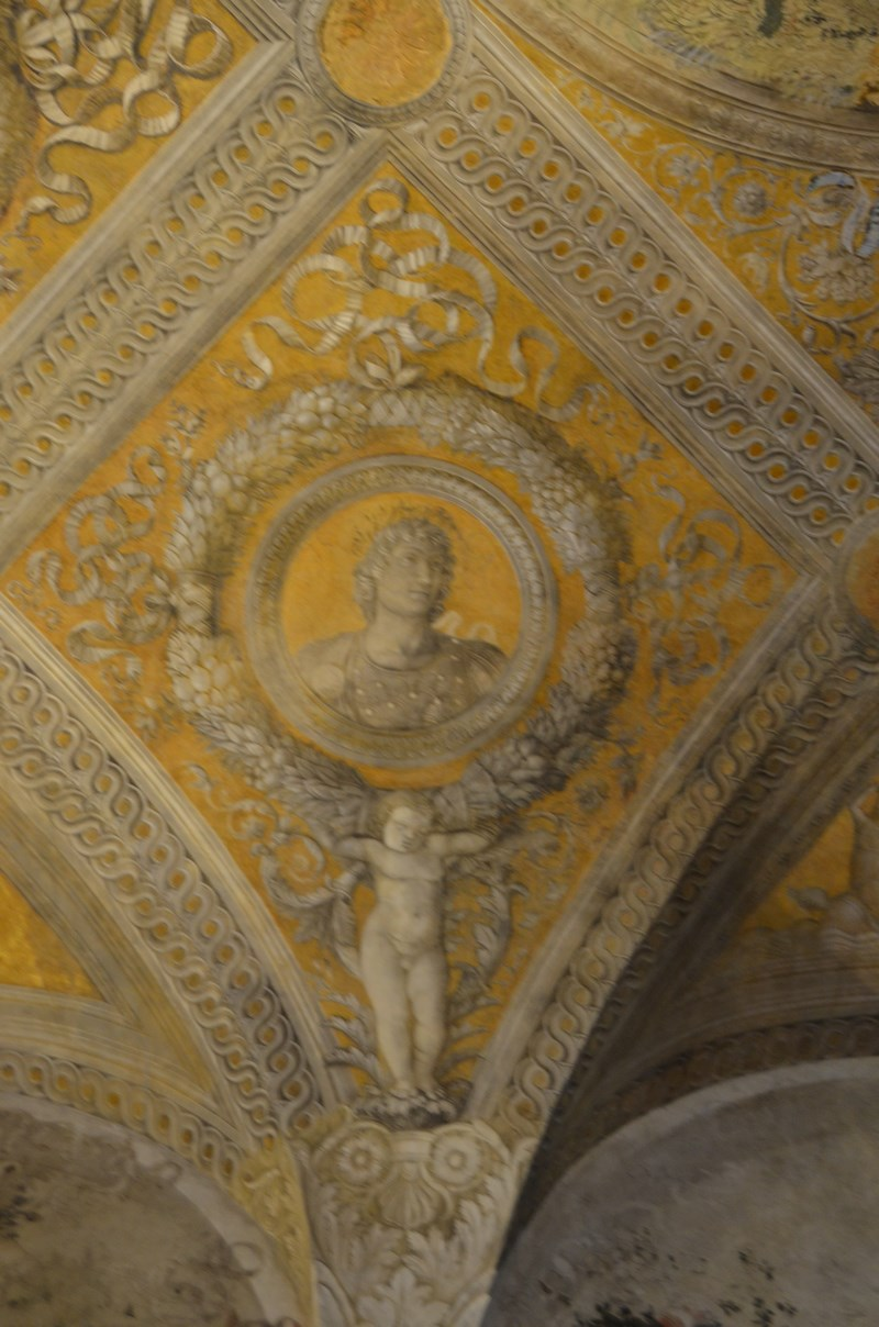I viaggi di raffaella il palazzo ducale di mantova la for Camera sposi mantova