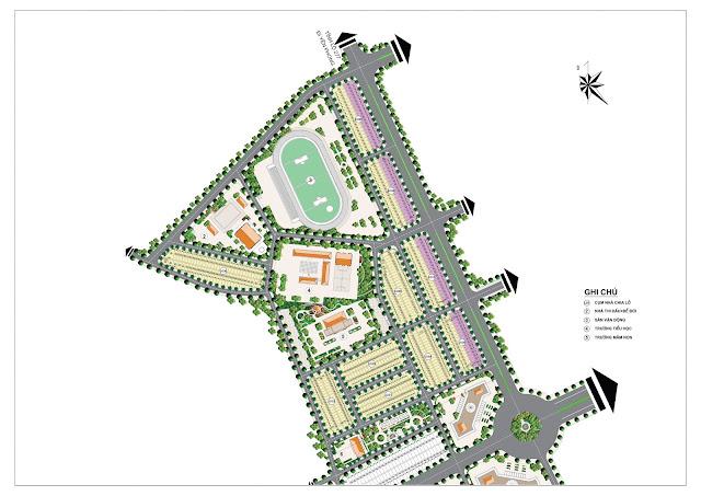 Mặt bằng khu đô thị Đồng Kỵ Lovera Garden