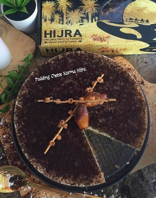 Pudding Cheese Kurma Hijra