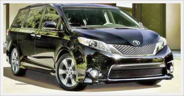 Toyota Sienna Redesign 2017 Update Review
