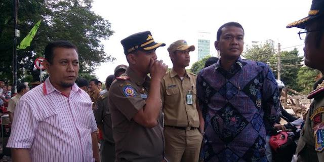 Kunjungi Lokasi Penggusuran Rawajati, DPRD Langsung Interogasi Satpol PP