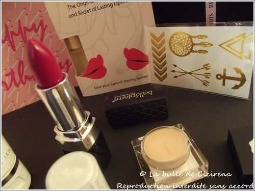 "Glossybox ""Happy Birthday ! """