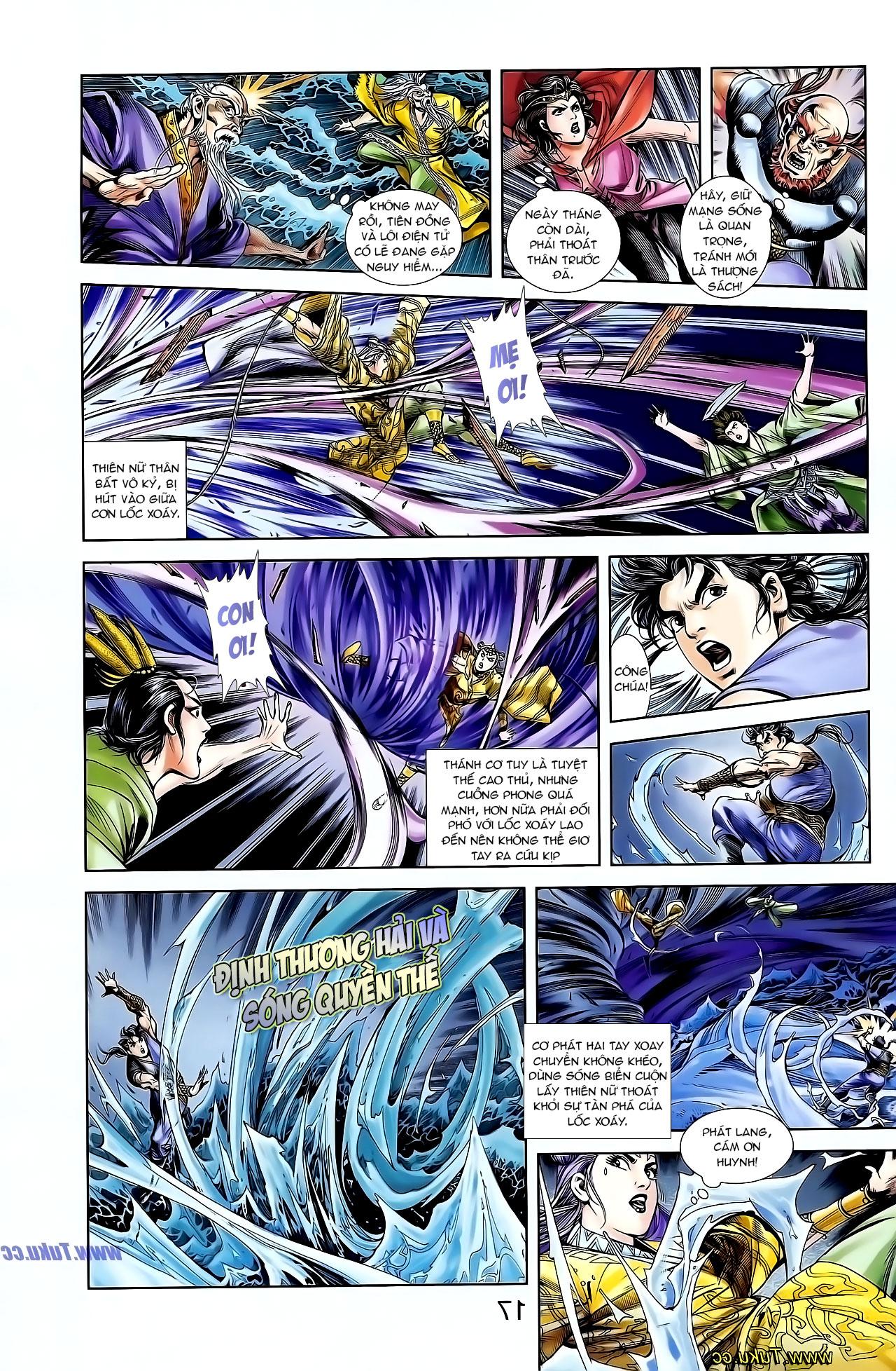 Cơ Phát Khai Chu Bản chapter 129 trang 14