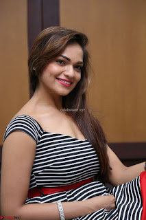 Ashwini in Spicy Short Deep Neck Dress at Pelliki Mundu Prema Katha Trailer Launch Exclusive  04.JPG
