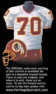 Washington Redskins 2000 uniform