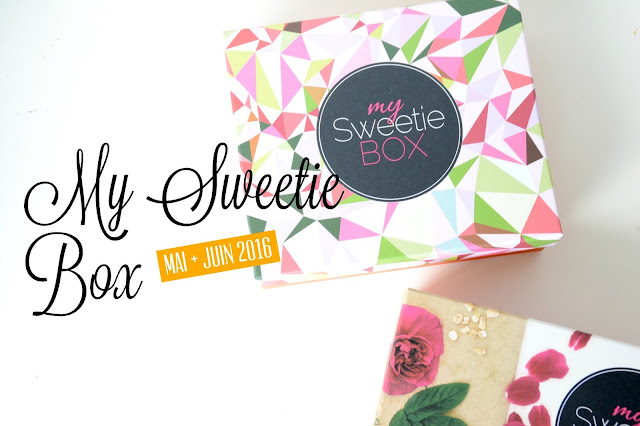 My Sweetie Box mai & Juin