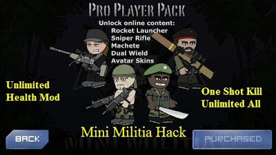 mini militia hack