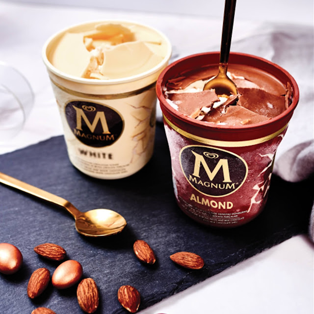 NEW Magnum Pints! Belgian Chocolate Indulgence Made To Be Broken