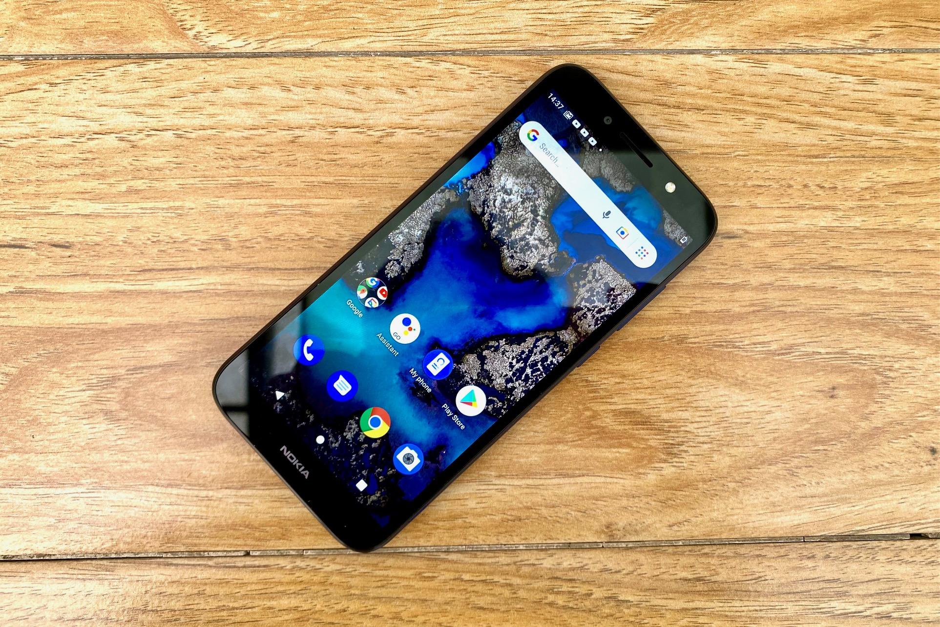 Nokia C1 Plus Review: Display