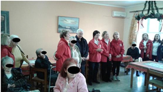 Επίσκεψη του Περιφερειακού Τμήματος Ναυπλίου του Ελληνικού Ερυθρού Σταυρού στο Γηροκομείο Ναυπλίου