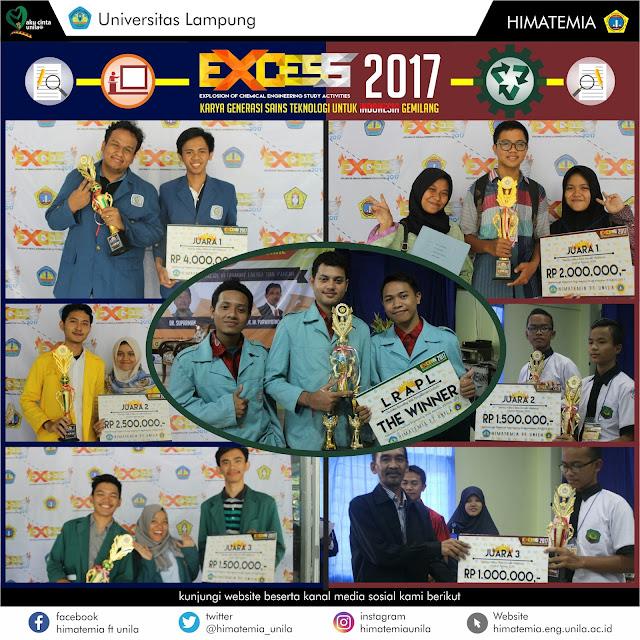 Daftar Pemenang Lomba Nasional EXCESS 2017