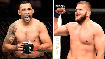 Horário Luta UFC Fabricio Werdum x Marcin Tybura em Sydney - 18/11/2017