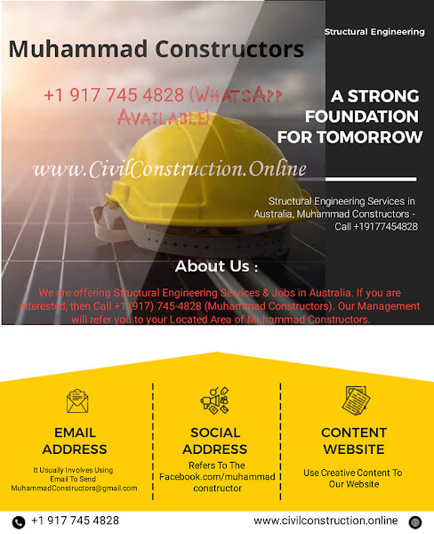 Structural Engineering Services in Dandenong, Australia, Muhammad Constructors - Call +1 (917) 745-4828