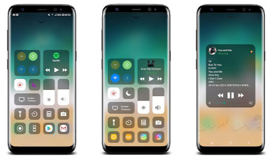 شرح تطبيق Control Center iOS 14