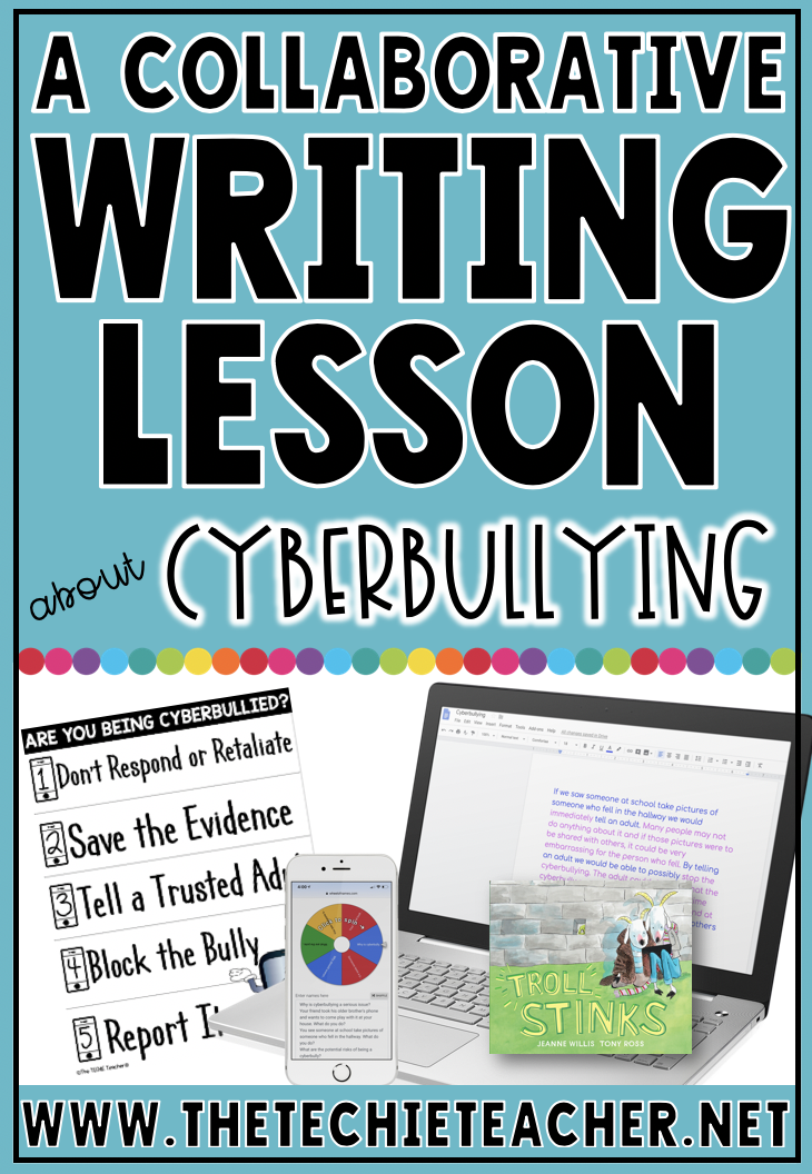 A Collaborative Writing Lesson About Cyberbullying