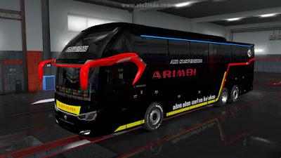 Livery Bus Jabar SR2 - Arimbi
