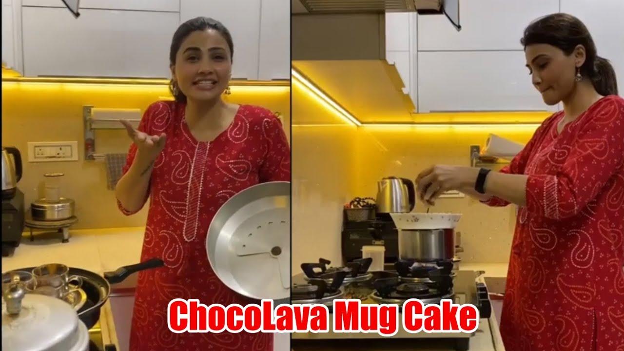 daisy-shah-make-mug-cake-during-lockdown