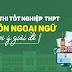 Đề thi và đáp án Kỳ thi tốt nghiệp THPT năm 2020 - Môn Ngoại ngữ